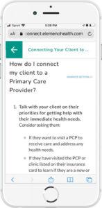 Elemeno for Alameda Care Connect PCP
